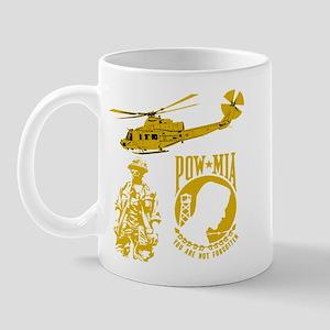 POW-MIA Gold Mug