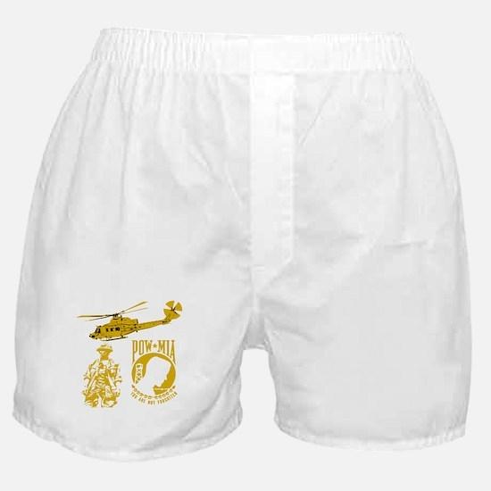 POW-MIA Gold Boxer Shorts
