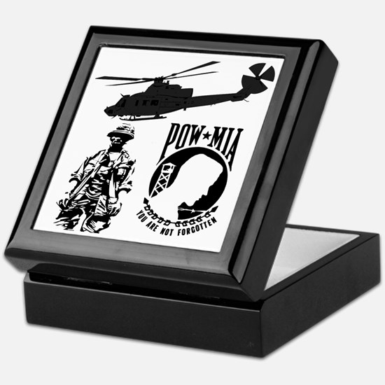 POW-MIA Black Keepsake Box