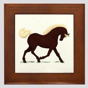 Rocky Mountain Horse Framed Tile