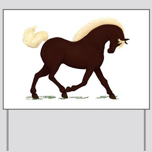 Rocky Mountain Horse Yard Sign