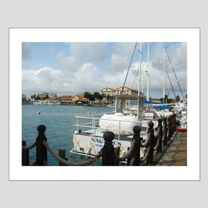 Fishing Dock Small Poster