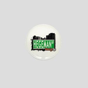 HEGEMAN AV, BROOKLYN, NYC Mini Button