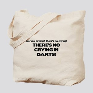 There's No Crying in Darts Tote Bag