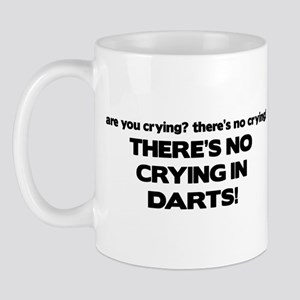 There's No Crying in Darts Mug