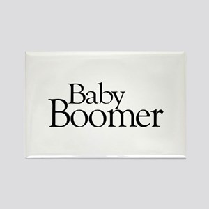 Baby Boomer Rectangle Magnet