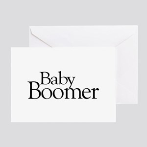 Baby Boomer Greeting Card