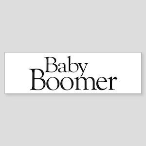 Baby Boomer Bumper Sticker