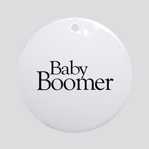 Baby Boomer Ornament (Round)
