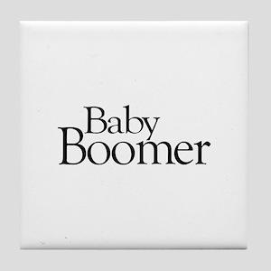 Baby Boomer Tile Coaster