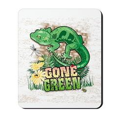 GONE GREEN Mousepad