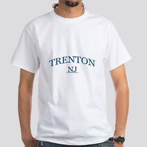 Trenton, NJ White T-Shirt