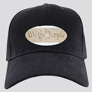 The Us Constitution Black Cap