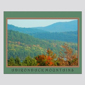Adirondack Mountains Small Poster