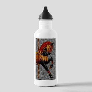Harvest Moons Carousel Horse Water Bottle