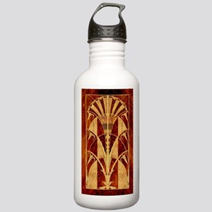 Harvest Moons Art Deco Panel Water Bottle