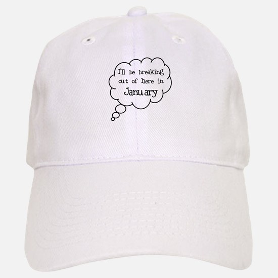 """Breaking Out January"" Baseball Baseball Cap"