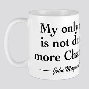 Keynes Wine Quote Mug