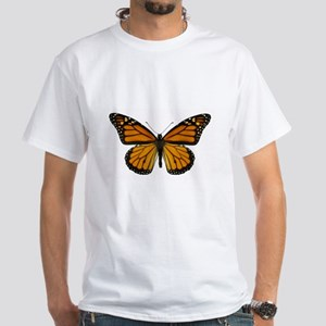 Monarch Butterfly White T-Shirt