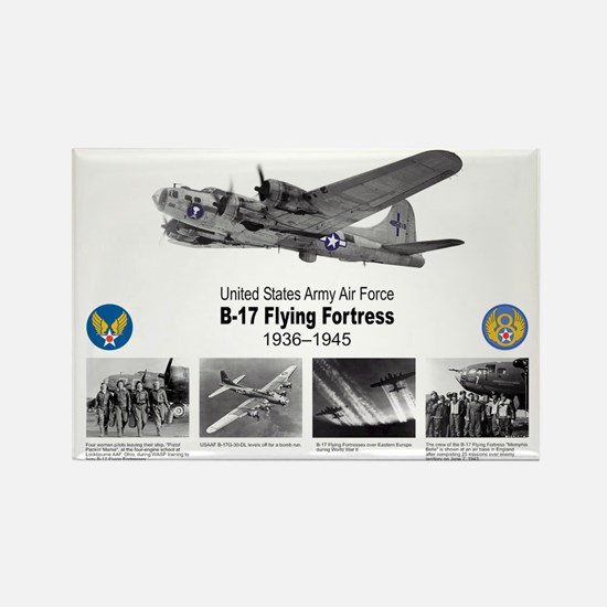 B-17 Commemorative Rectangle Magnet