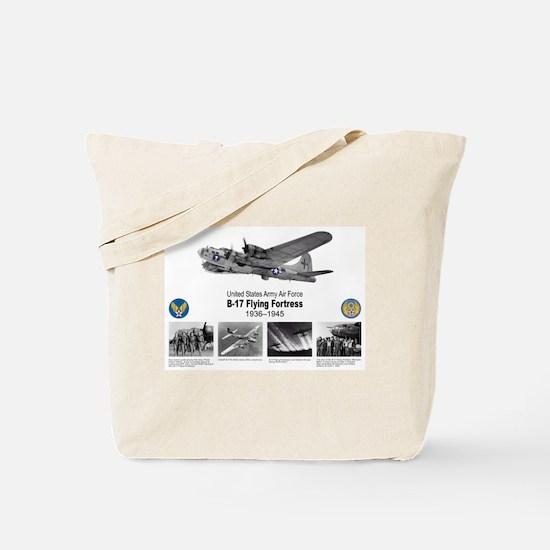B-17 Commemorative Tote Bag