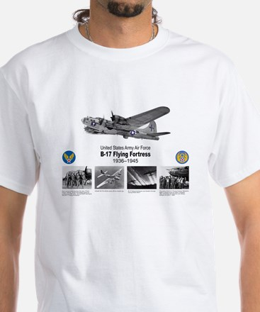 B-17 Commemorative White T-Shirt