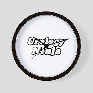 """""""Urology Ninja"""" Wall Clock"""
