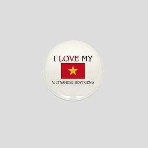 I Love My Venezuelan Boyfriend Mini Button