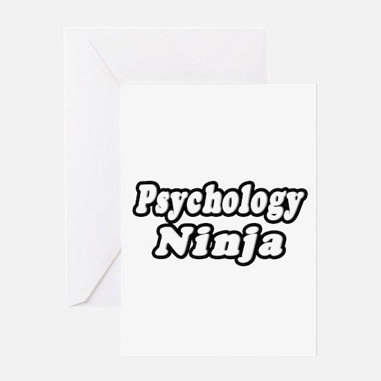 """Psychology Ninja"" Greeting Card"