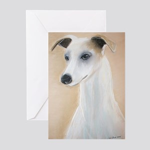 """""""Lilyth"""" a Whippet Greeting Cards (Pk of 10)"""