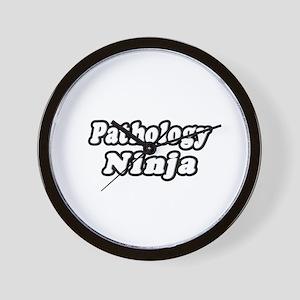 """Pathology Ninja"" Wall Clock"