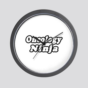 """Oncology Ninja"" Wall Clock"