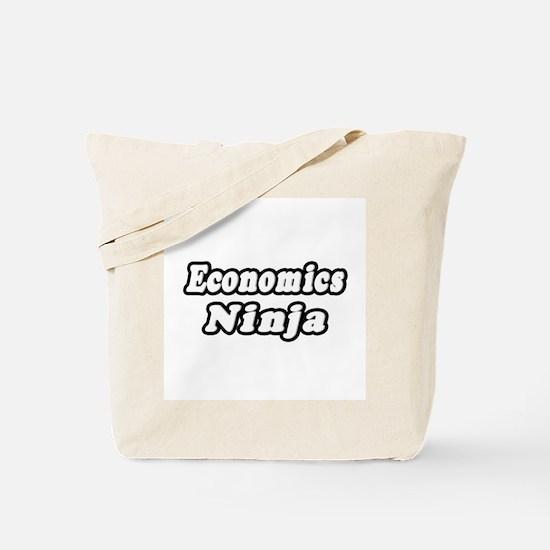 """Economics Ninja"" Tote Bag"