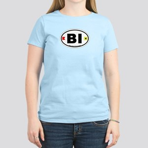 Block Island Oval Women's Light T-Shirt