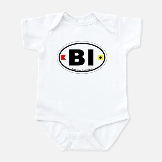 Block Island Oval Infant Bodysuit