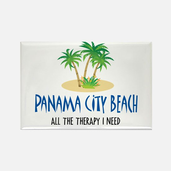Panama City Beach Therapy - Rectangle Magnet