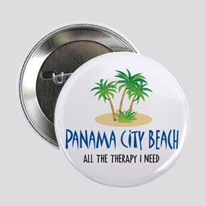 "Panama City Beach Therapy - 2.25"" Button"