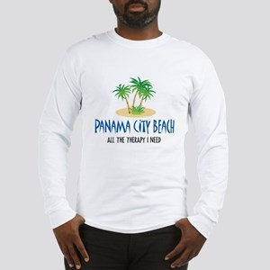 Panama City Beach Therapy - Long Sleeve T-Shirt
