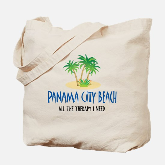 Panama City Beach Therapy - Tote or Beach Bag