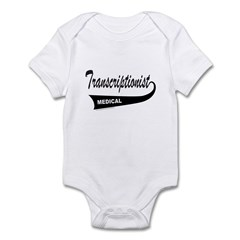 TRANSCRIPTIONIST Infant Bodysuit