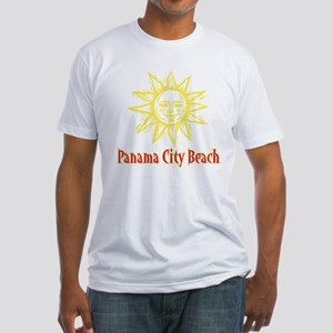 Panama City Beach Sun - Fitted T-Shirt