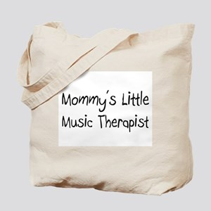 Mommy's Little Music Therapist Tote Bag
