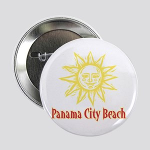 "Panama City Beach Sun - 2.25"" Button"