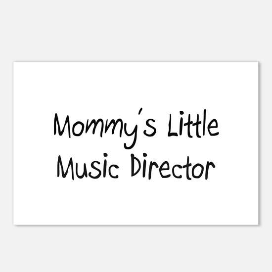 Mommy's Little Music Director Postcards (Package o