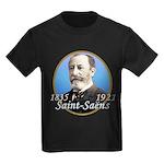 Camille Saint-Saens Kids Dark T-Shirt