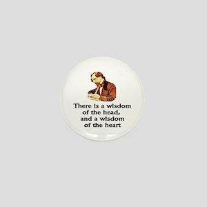 Dickens Wisdom Mini Button
