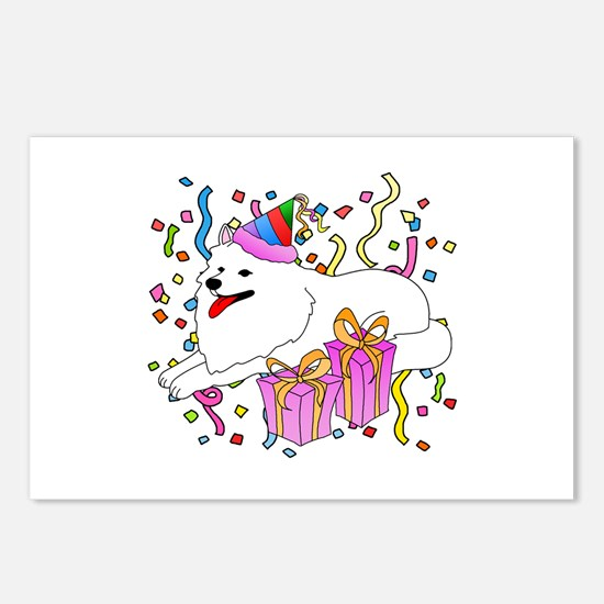 Samoyed Party Postcards (Package of 8)