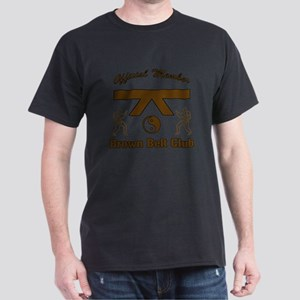 Brown Belt Club Dark T-Shirt