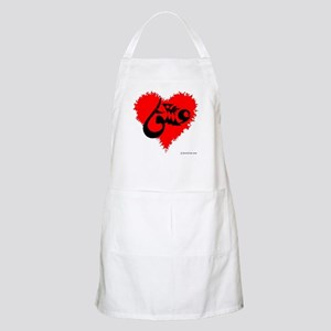 Eshgh and Love in a heart BBQ Apron
