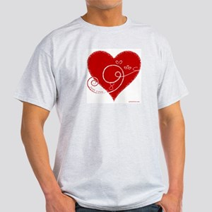 Eshgh (Love in Persian) Light T-Shirt